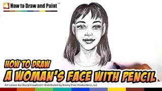 How to Draw a Woman - Young Woman