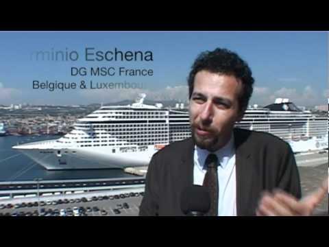 TourMaG.com : Baptême du MSC Divina, Med with Passion !