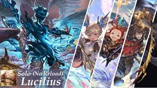 [GBF] Lucilius/Dark Rapture (Hard) (ルシファー Hard) - Primal Light Solo (No Reload)