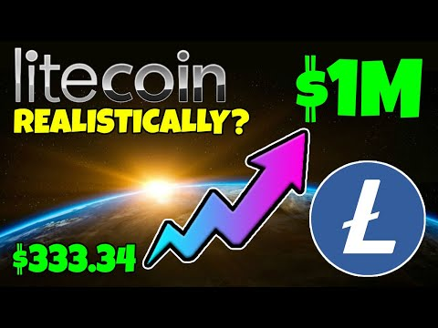 LITECOIN (LTC) - COULD $333 MAKE YOU A CRYPTO MILLIONAIRE... REALISTICALLY???