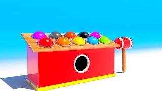 Игрушка!Учим цвета на английском! Развивающие мультики и обучающие видео обзоры для детей