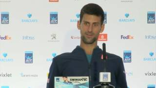 You guys are unbelievable!' - Novak Djokovic has spat with journalist