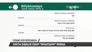"Fakta di Balik Grup ""Whatsapp"" Mirna"