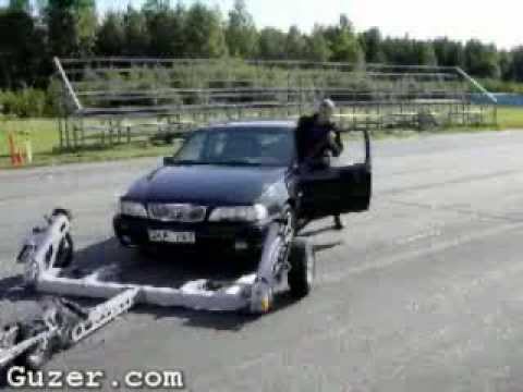 Flatbed Tow Truck >> Tow-truck motorcycle - YouTube