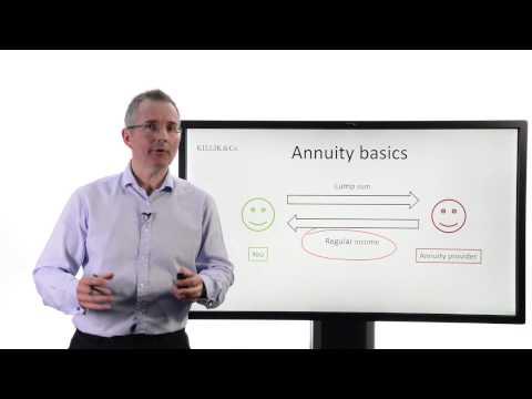 Tim Bennett Explains How Annuities Work