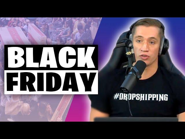 BLACK FRIDAY & Q4 sur SHOPIFY (Dropshipping Show #1)