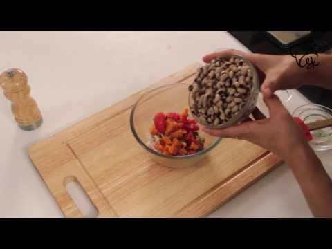 Black Eyed Pea Salad Recipe By Masterchef Shipra Khanna I Black Eyed Pea Salad Indian Appetizer