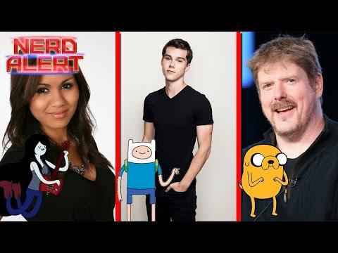 Adventure Time - Jeremy Shada, Olivia Olson & John DiMaggio Roundtable Interview