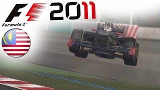 F1 2011 Career Mode Part 2: Monsoonal Malaysia