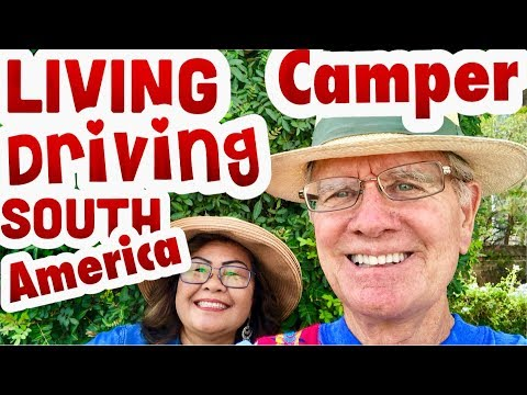 Dangerous? Living & Driving to South America In Camper Van RV Adventure South America