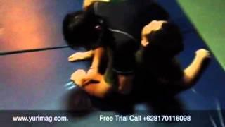 Grappling Technique-Ninja Choke from Mount
