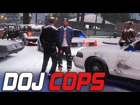 Dept. of Justice Cops #27 - Bait Car Sting! (Law Enforcement)