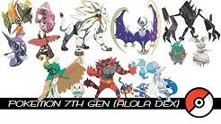 Pokemon 7th Gen / Alola Dex