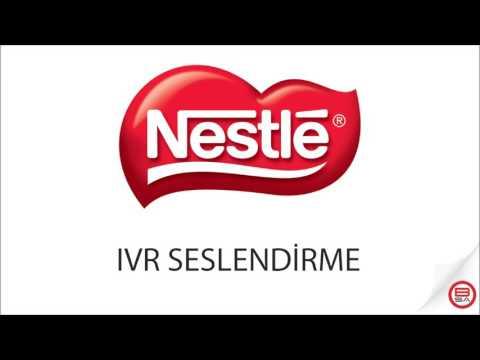 IVR Seslendirme - Nestle