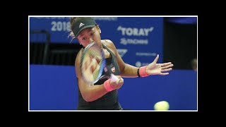 Tennis: Osaka advances to Toray Pan Pacific Open final