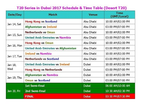 icc champions trophy 2017 schedule time table pdf