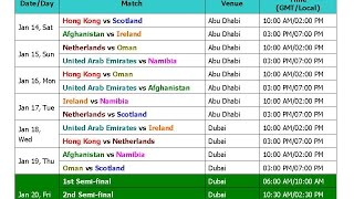 Download T20 Cricket Schedule 2017 Videos