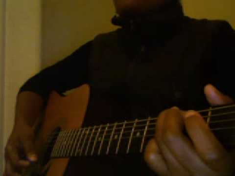 "How To Play "" I Stand Amazed"" On The Guitar (As played by Chidimma)"