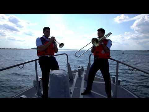 United States Coast Band performing