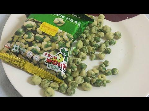 BIZARRE GREEN PEAS IN WASABI - TASTE TEST