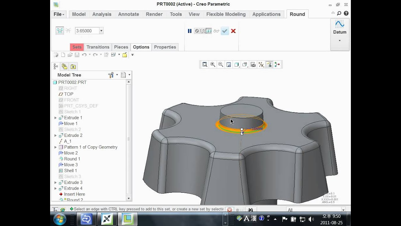 Roundtrip between Creo Direct and Creo Parametric - YouTube