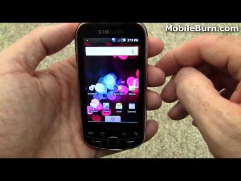 Samsung Intercept for Sprint - part 1 of 2