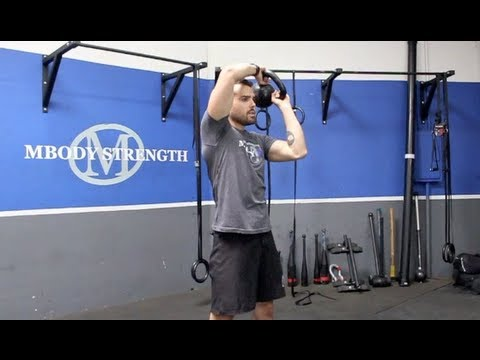 Kettlebell Halo Tutorial Created by Marcus Martinez