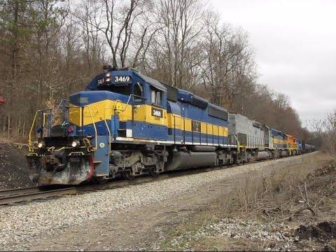 Chasing Buffalo & Pittsburgh Railway SIRI 04/05/2017