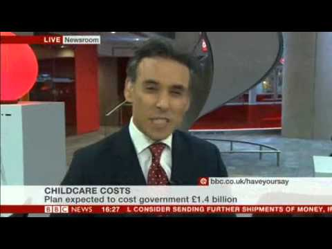 BBC News channel - Matthew Amroliwala in the Newsroom