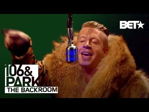 Macklemore in The Backroom   106 & Park Backroom