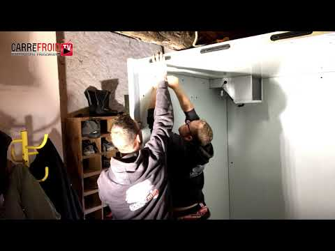 Installation chambre froide positive