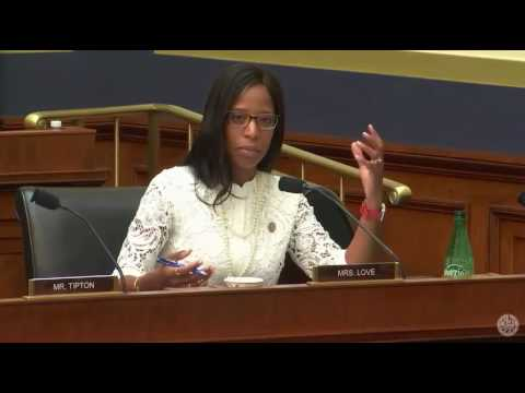 Rep. Love on protecting consumers at Financial Inst. Subcom hearing
