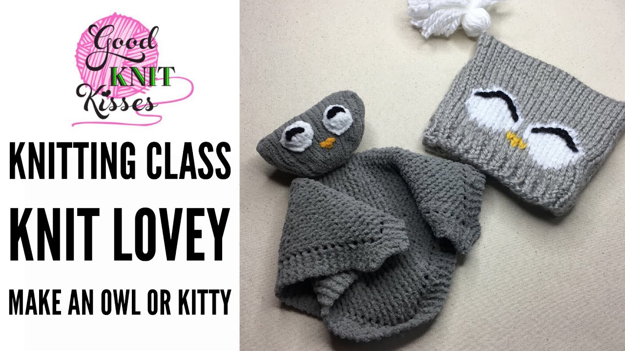 Owl lovey make a knit lovey youtube owl lovey make a knit lovey bankloansurffo Images