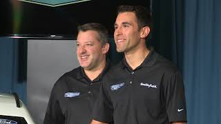 Christmas Comes Early For Aric Almirola, Stewart-Haas Racing