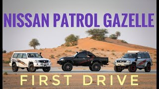 2019 Nissan Patrol Gazelle Range First Drive: The Beasts from the East!