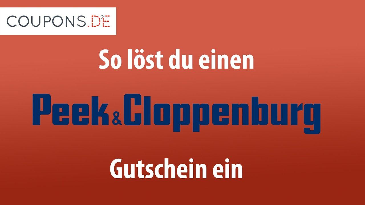 Peek Und Cloppenburg Gutschein Aktion