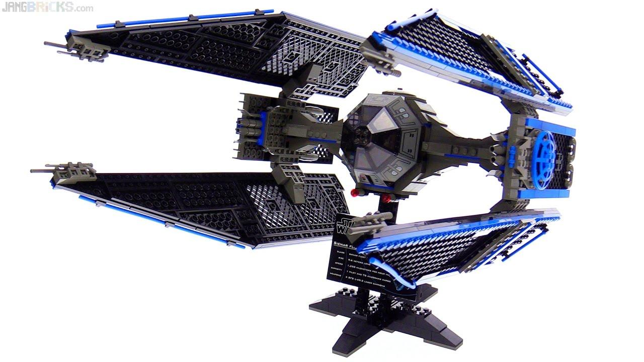 how to build a lego tie interceptor