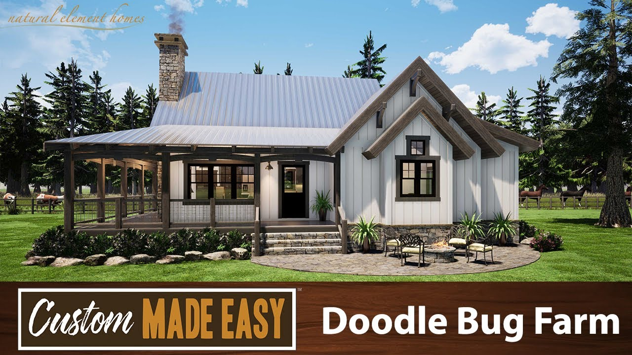 Custom Made Easy Dooble Bug Farm Natural Element Homes Youtube