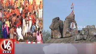History Of Kondagattu Anjanna Temple   Hanuman Jayanthi   V6 News