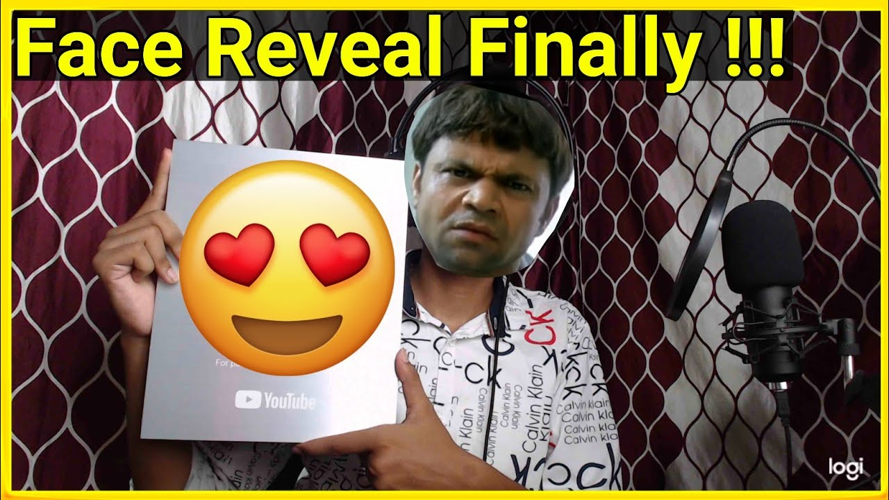 Finally Face Reveal 😄 Video With YouTube Silver Play Button !!!