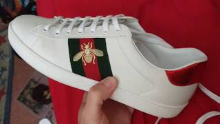 d49feda44c6 Gucci Ace Embroidered Low Top Sneaker Review (Hforhype)