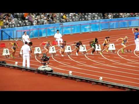 2011 UNIVERSIADE SHENZHEN Women 100m Final.AVI