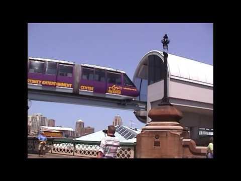 Feb 2003 - Sydney, Australia - Bondi Beach & Monorail