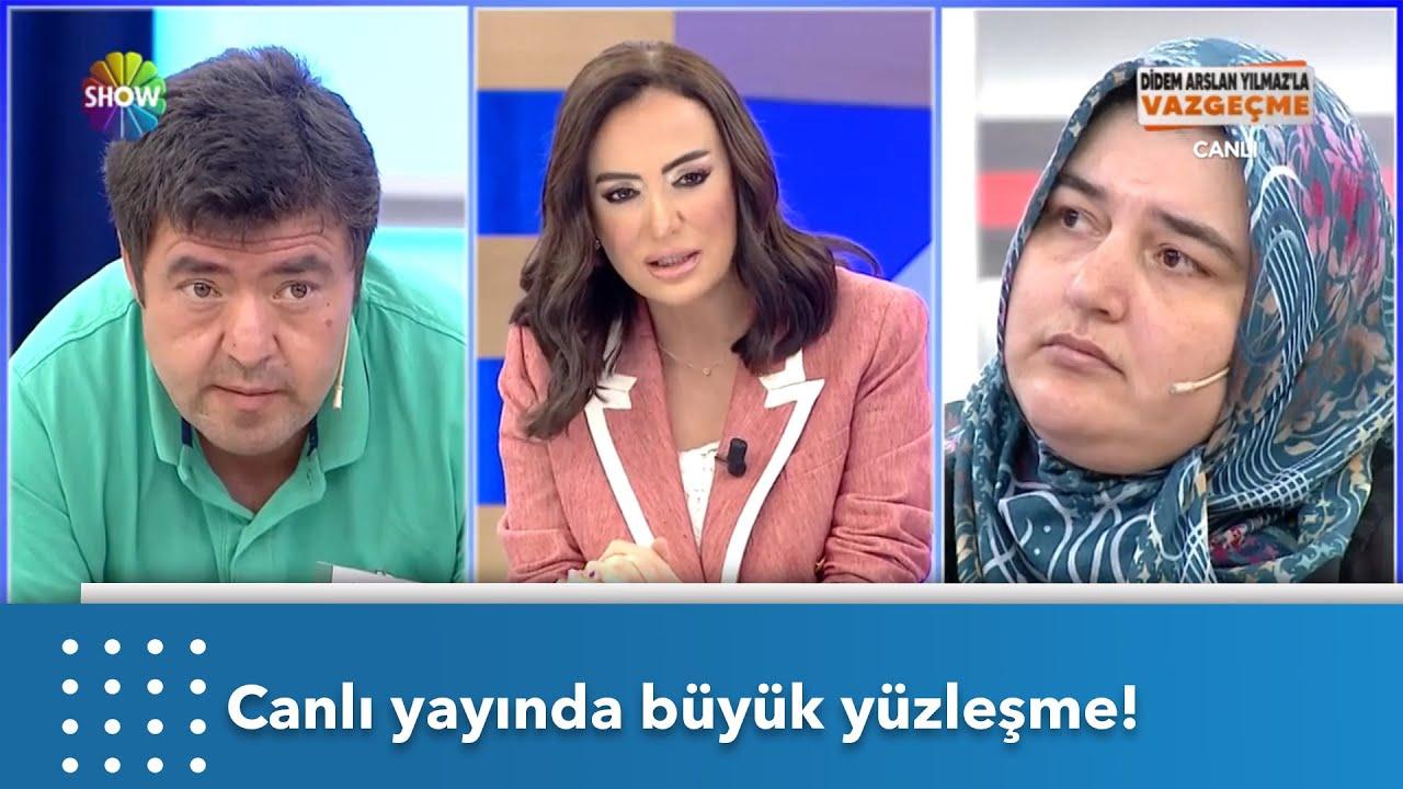 Gelin Sevim Hanım stüdyoya geldi, Ahmet Bey stüdyoyu terk etti! | Didem Arslan Yılmaz'la Vazgeçme