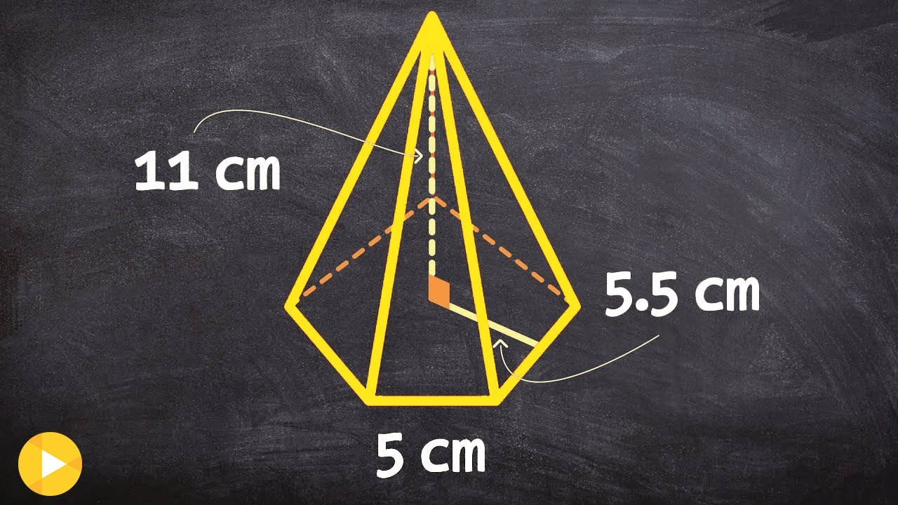 Geometry  How To Find The Volume Of A Pentagonal Pyramid