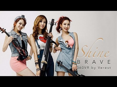 [360 VR] 전자현악 (Electronic String) 샤인(Shine) 1st 앨범 'Brave'