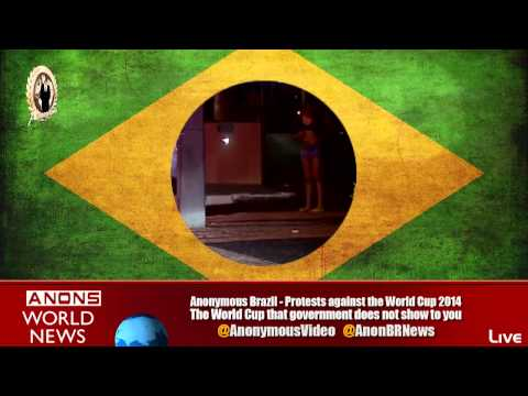 Anonymous Brazil - Protest World Cup 2014
