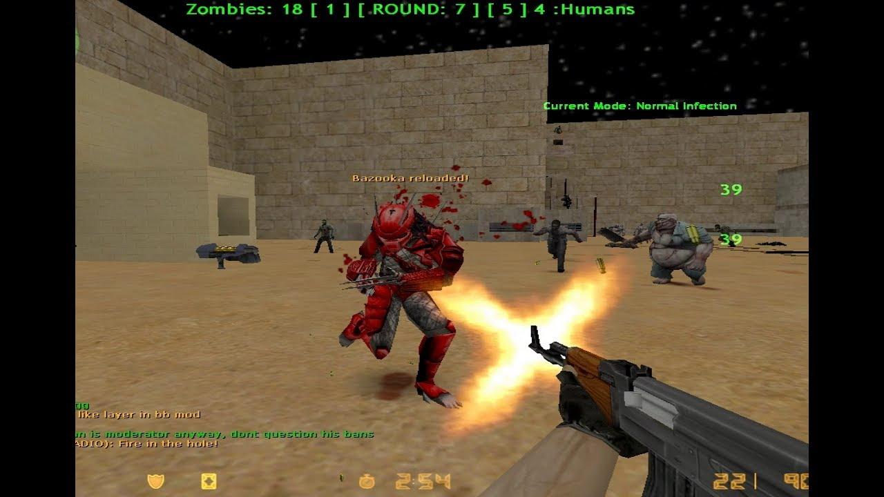 Download Loquendo Zombie Plague Counter Strike 1.6 [PARTE 8] UGC.LT •LASERMINE•