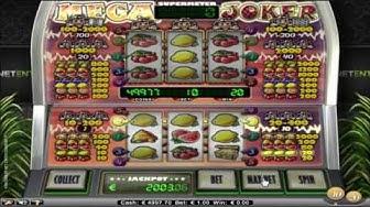 Mega Joker von NetEnt Spielautomaten Übersicht