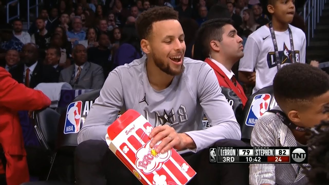stephen-curry-eats-popcorn-2018-nba-all-star-game
